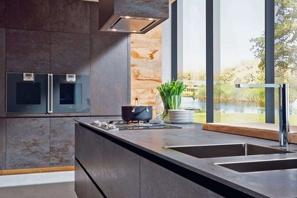 ALNO black oxide kitchen