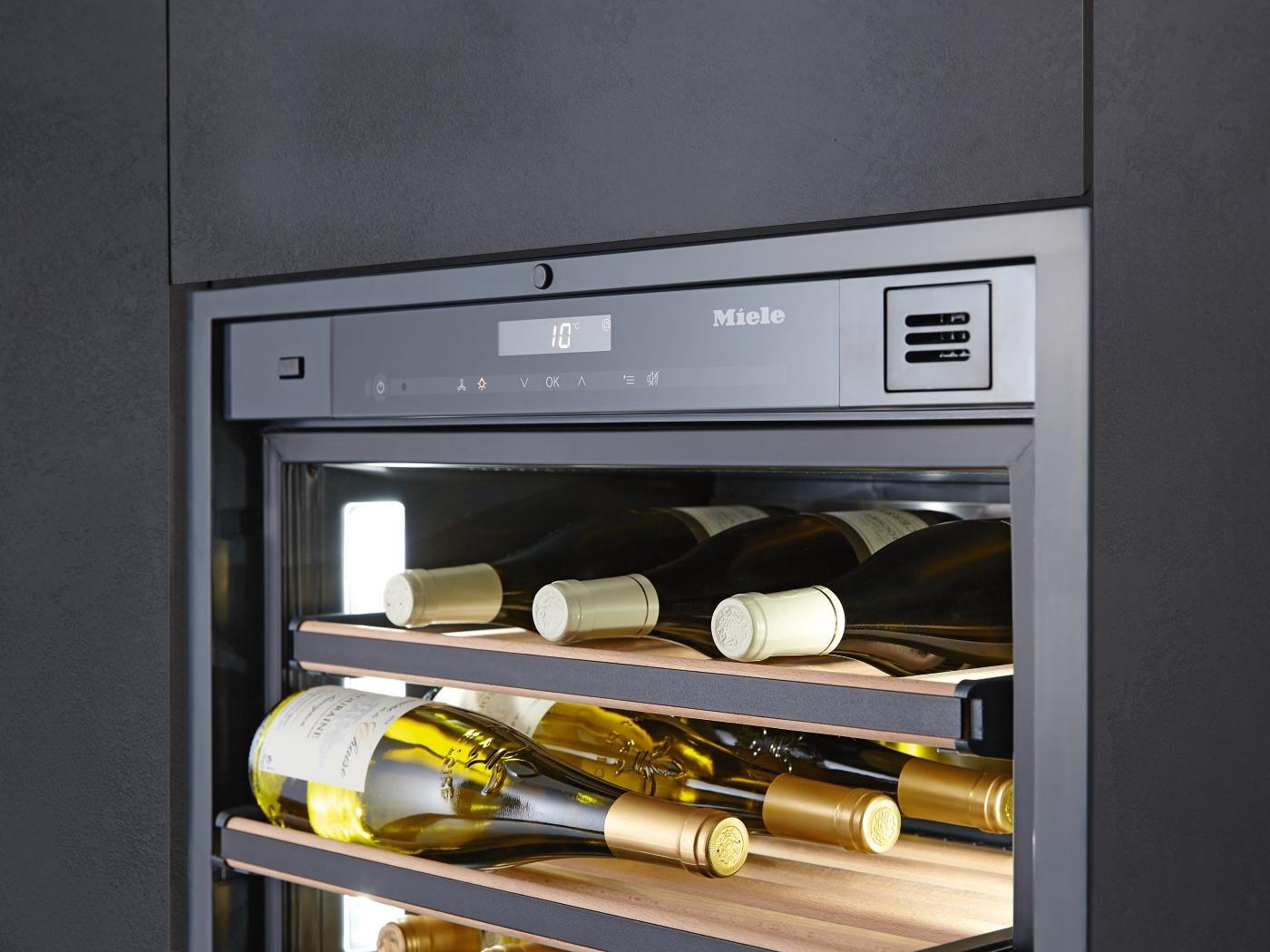 Miele Weinkühlschrank – Produktvorteile, die für Miele sprechen ...